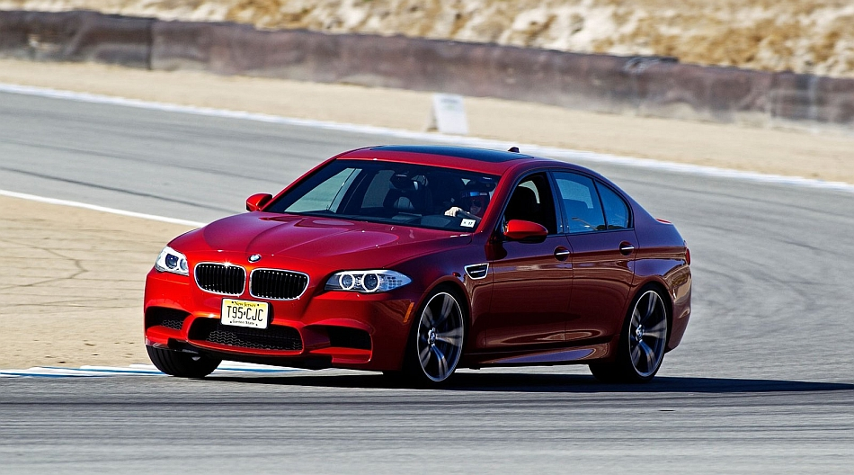 2012 BMW F10 M5 Around Laguna Seca