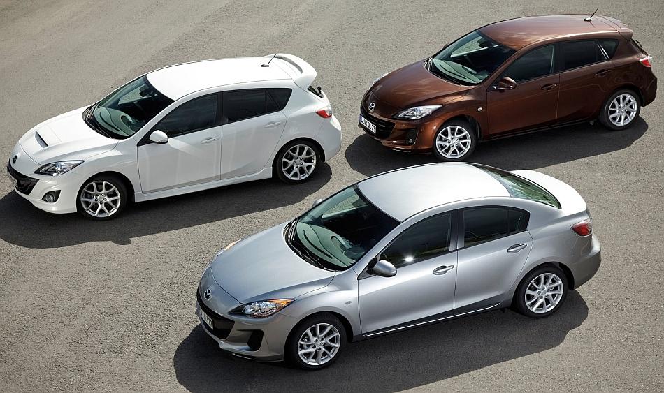 2012 Mazda3 Family