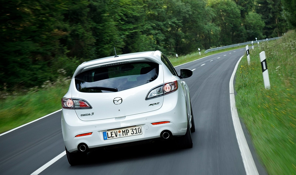 2012 Mazda3 MPS Rear Cruising