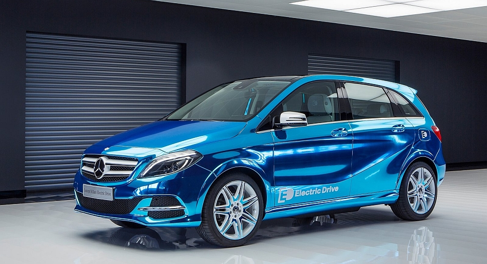 2012 mercedes benz b class electric drive concept front 3 for Mercedes benz b class electric