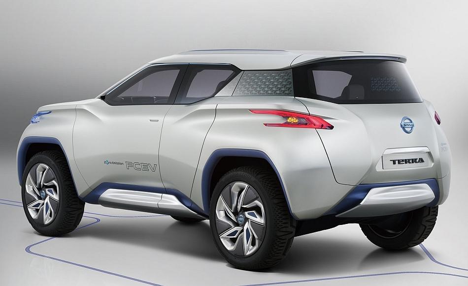 2012 Nissan TeRRa Concept Rear 3-4 Left