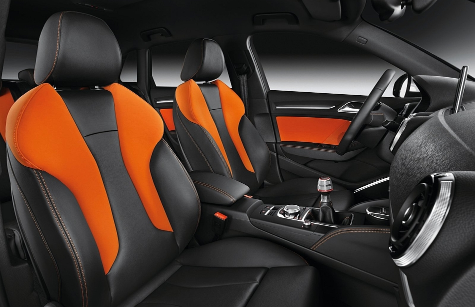 2013 Audi A3 Sportback Front Seats