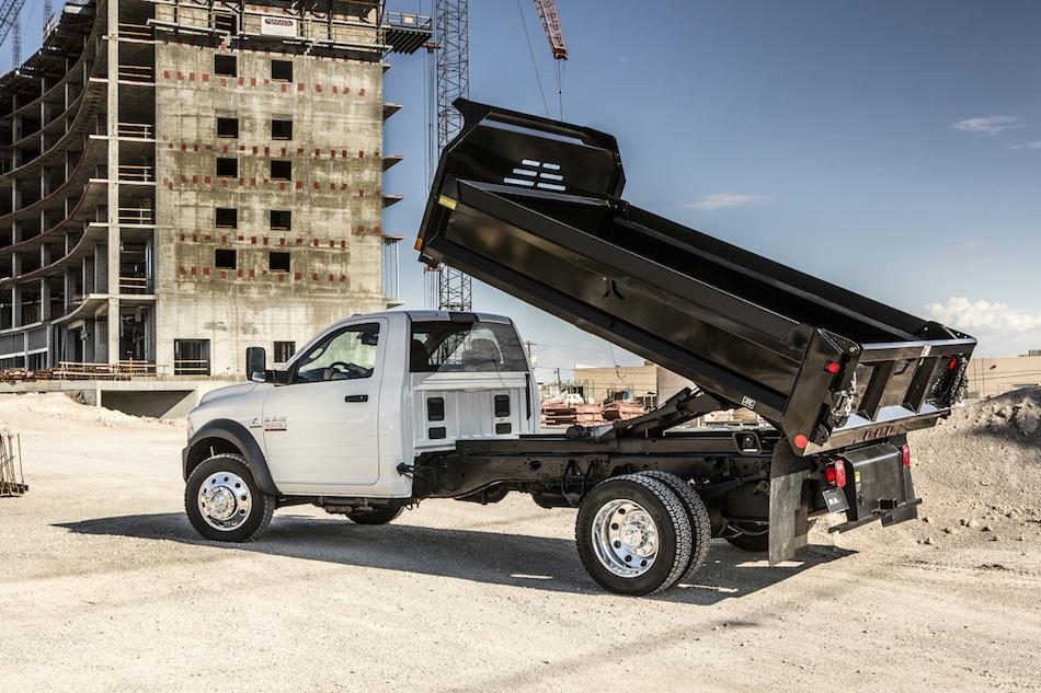2014 Dodge Ram 5500 Dump Truck