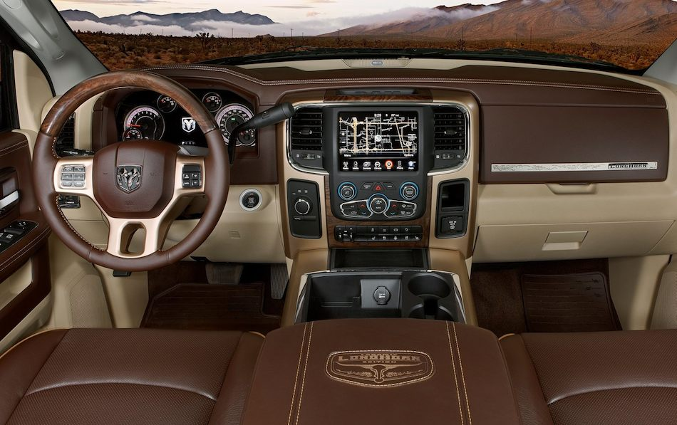 2013 Dodge Ram HD Dually Laramie Longhorn Interior