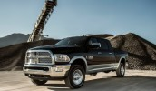 2013 Dodge Ram HD Long Cab Front 3/4 Left In Motion