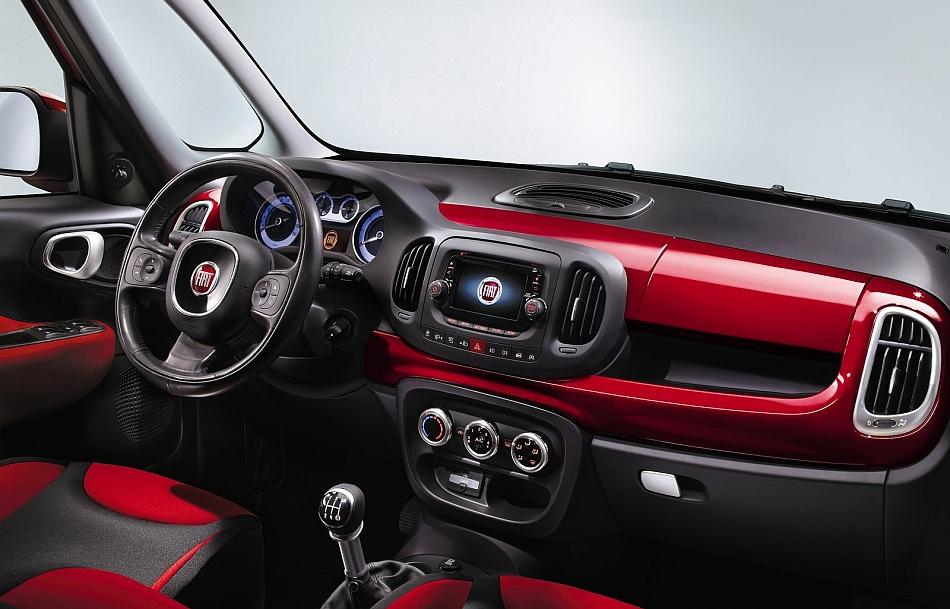 2013 Fiat 500L Dashboard EgmCarTech