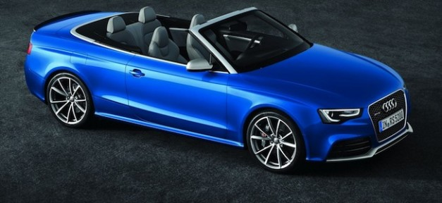 2013audirs5cabriolet f 627x288 2012 Paris Report: Audi RS5 Cabriolet confirmed to be coming stateside by 2013