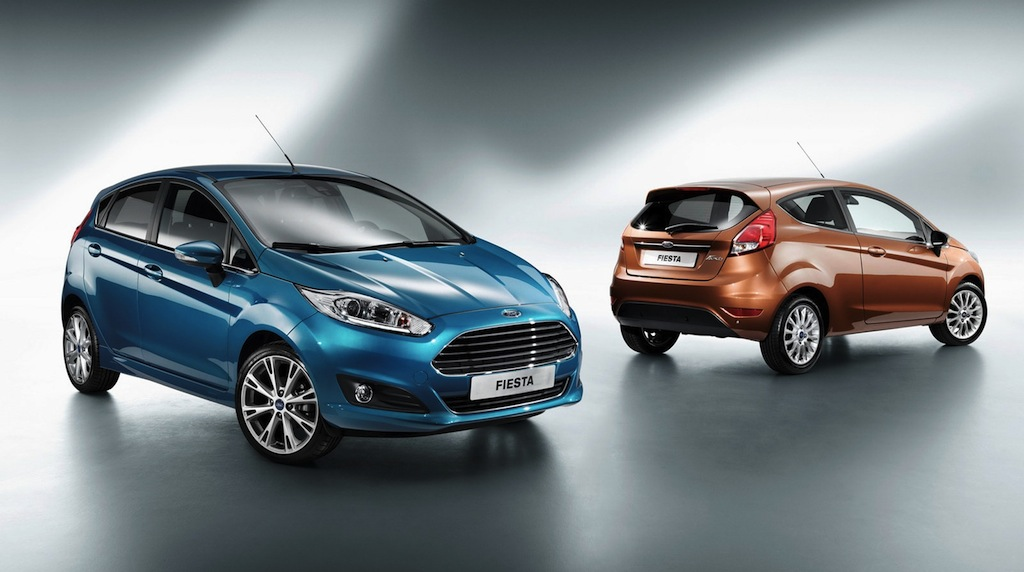 2013 Ford Fiesta Front/Back