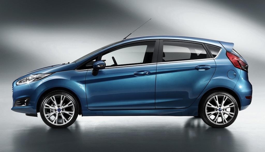 2013 Ford Fiesta Side View - egmCarTech - egmCarTech