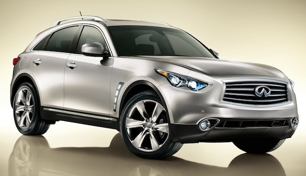 "Report: Infiniti's next generation FX or ""QX70"" and will offer more interior room"