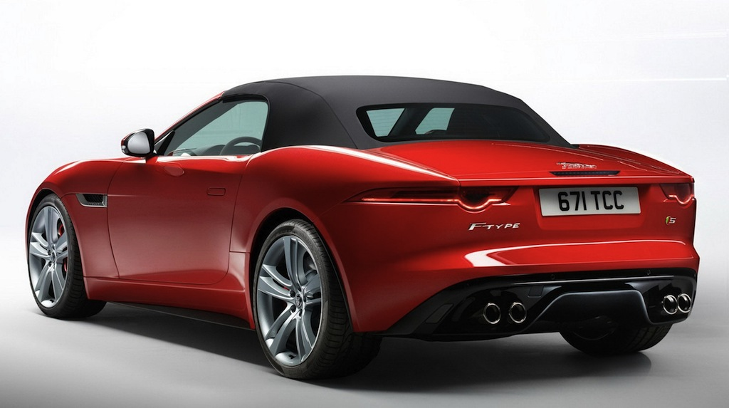 jaguar f type red - photo #11