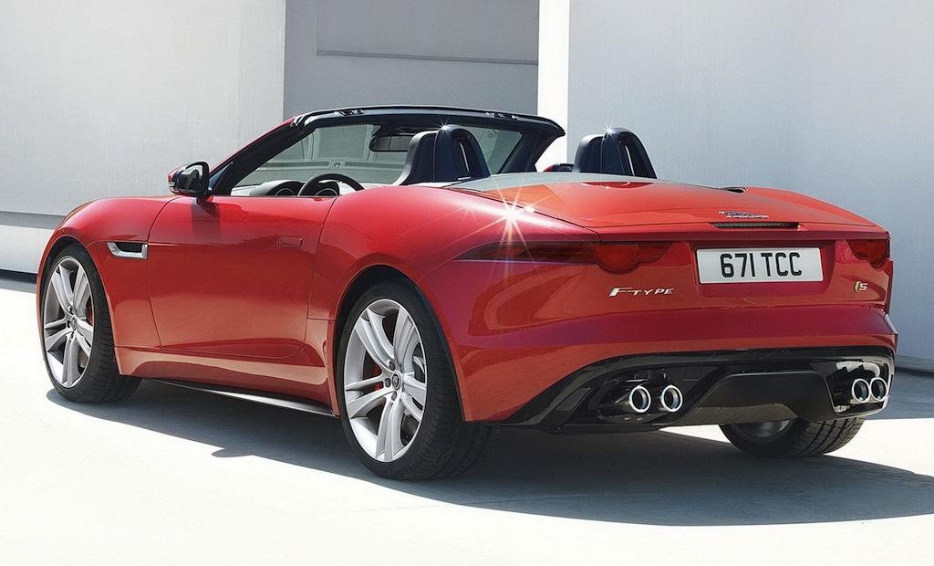 jaguar f type red - photo #5