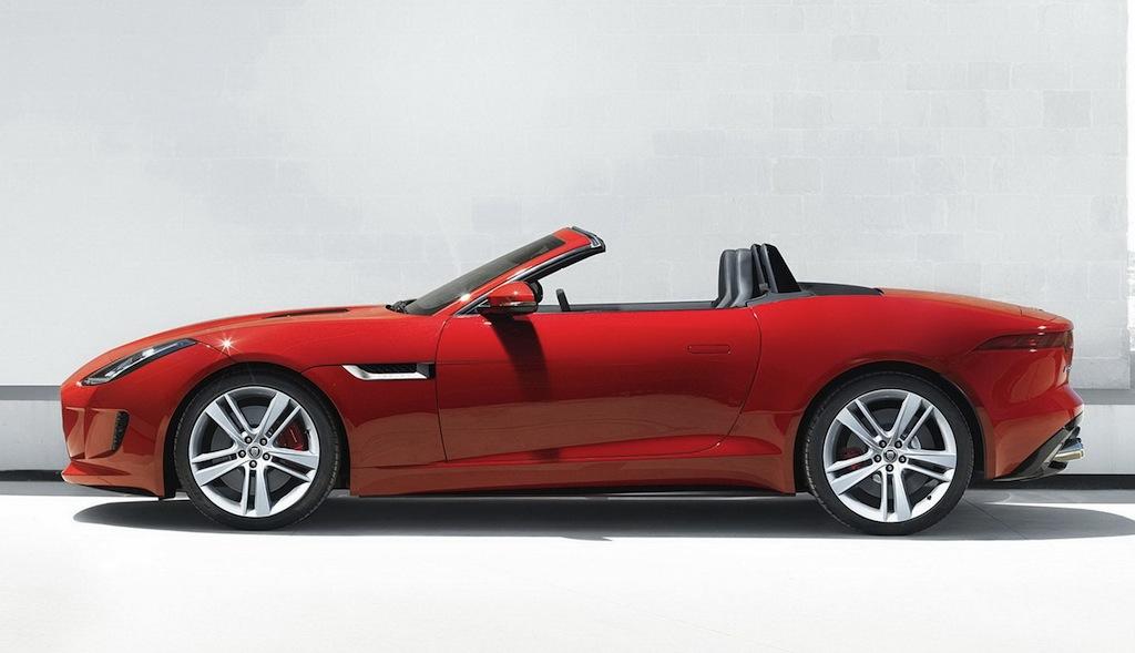 jaguar f type red - photo #2