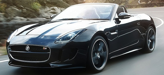 2013 Jaguar F-TYPE Black