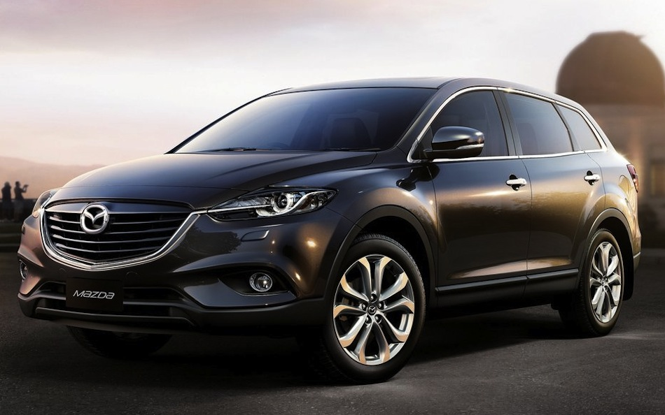 2013 Mazda CX-9 Front 7/8 Preview