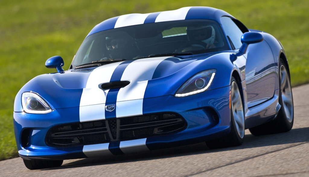 2013 SRT Viper GTS Launch Edition Front 3/4 Action View