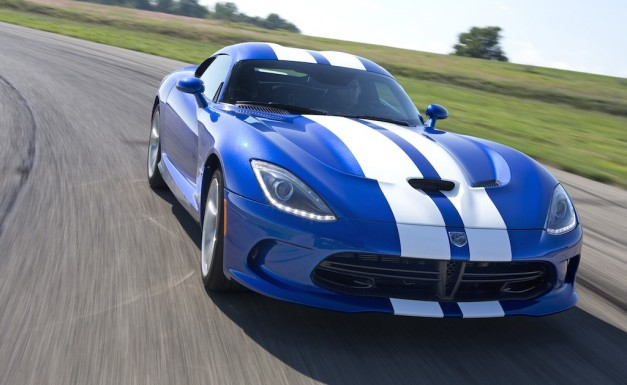 2013 SRT Viper GTS Launch Edition on the Gingerman Track