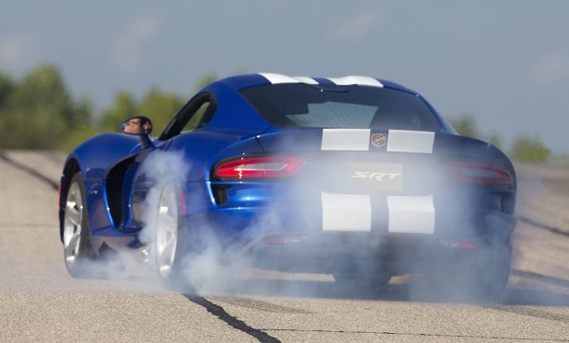 2013 SRT Viper GTS Launch Edition Burnout