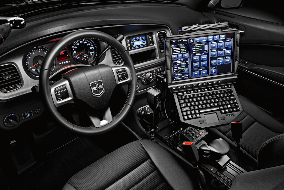 2014 Dodge Charger Pursuit Interior