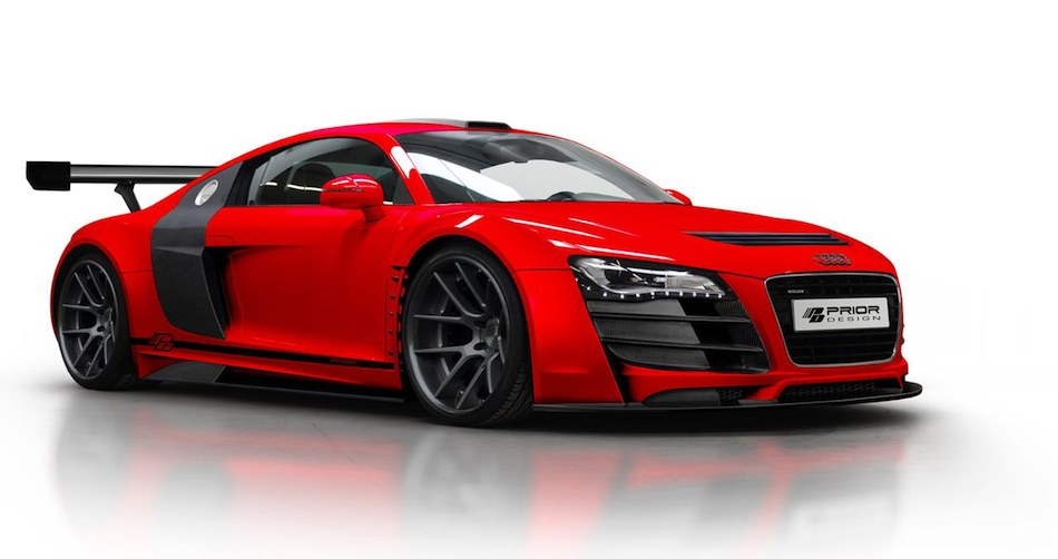 Audi R8 GT850 by Prior Design Front 3/4 Right