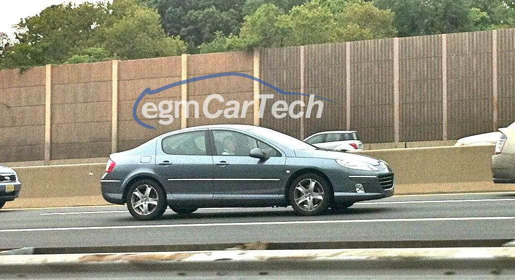 Peugeot 407 NJ Turnpike