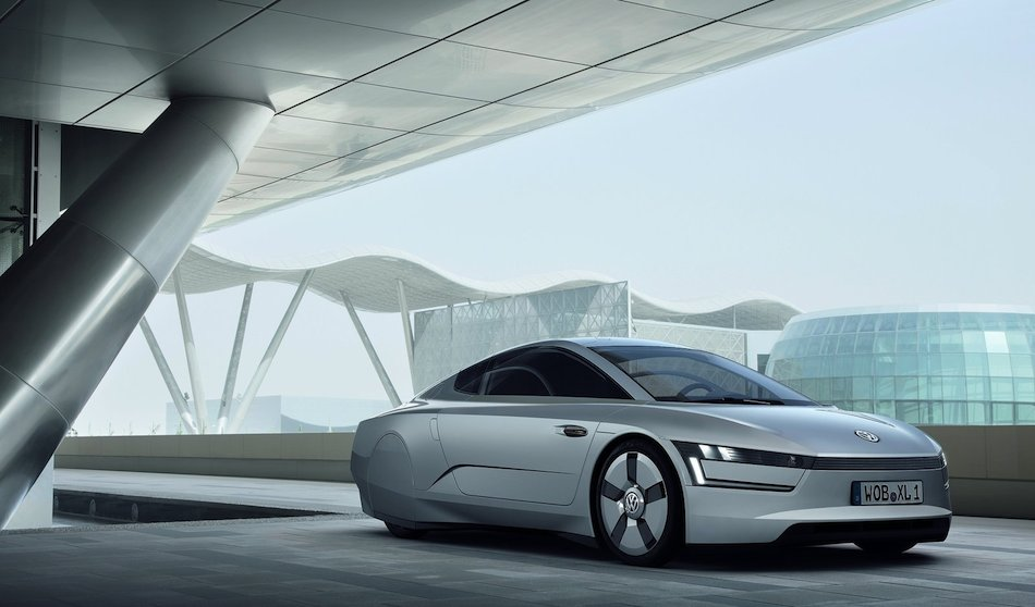 Volkswagen XL1 Concept Front 7/8 Right