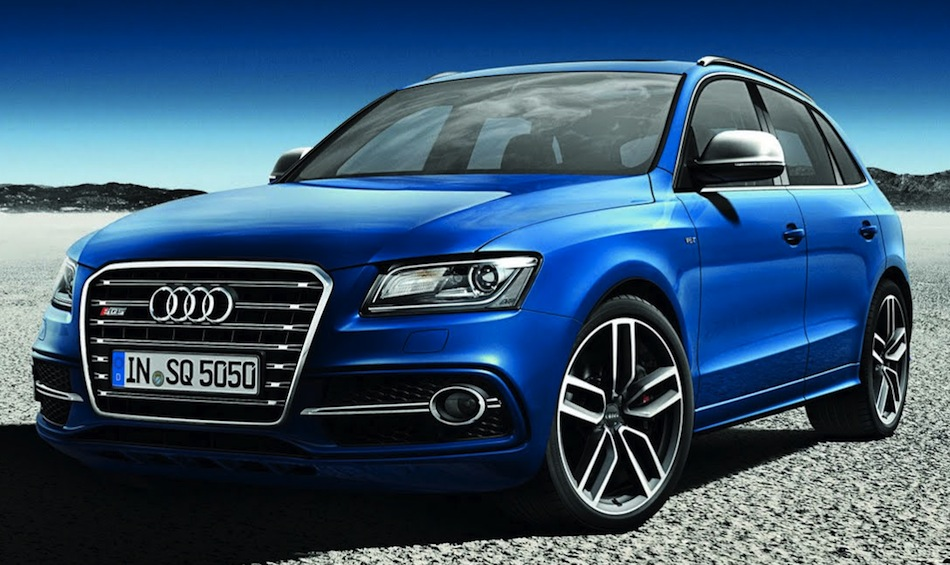 Audi SQ5 TDI Exclusive Concept Front 3/4 View