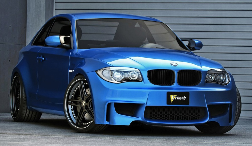Best Cars and Bikes BMW 1-Series M Coupe Front 3/4 View