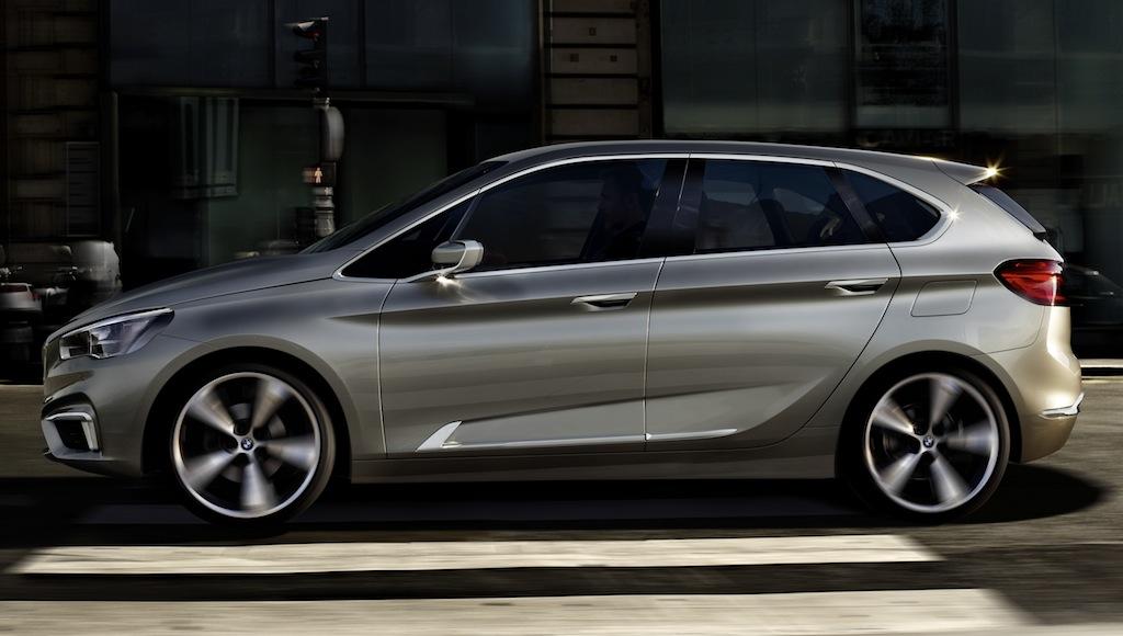 BMW Concept Active Tourer Side Profile Angle - egmCarTech