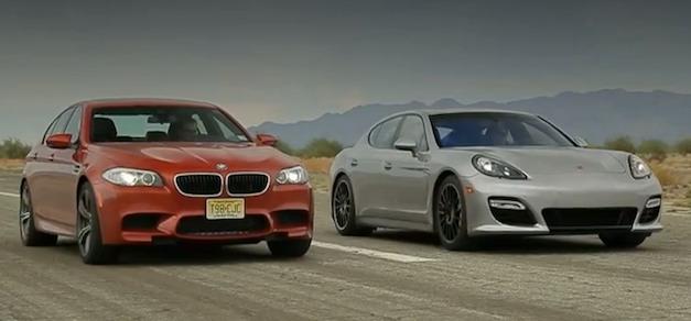 BMW M5 vs. Porsche Panamera GTS