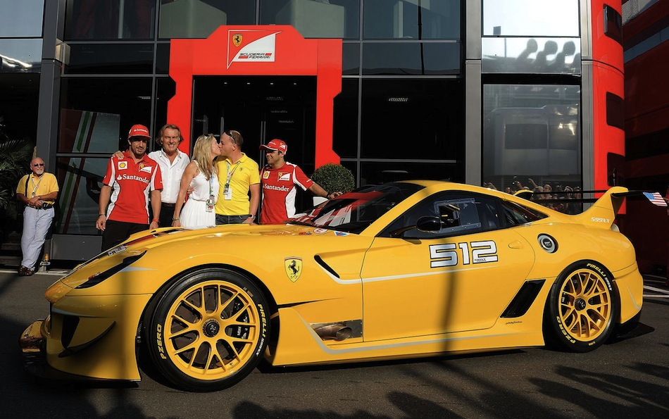 Ferrari CEO delivers 599XX Evo to Google Exec Full Pic