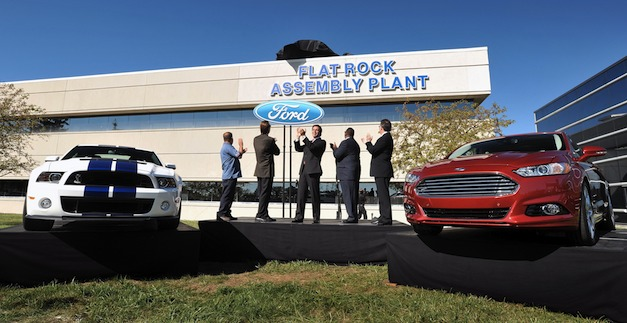 FoMoCo launches new era at Flat Rock Plant, U.S. production home of new 2013 Fusion