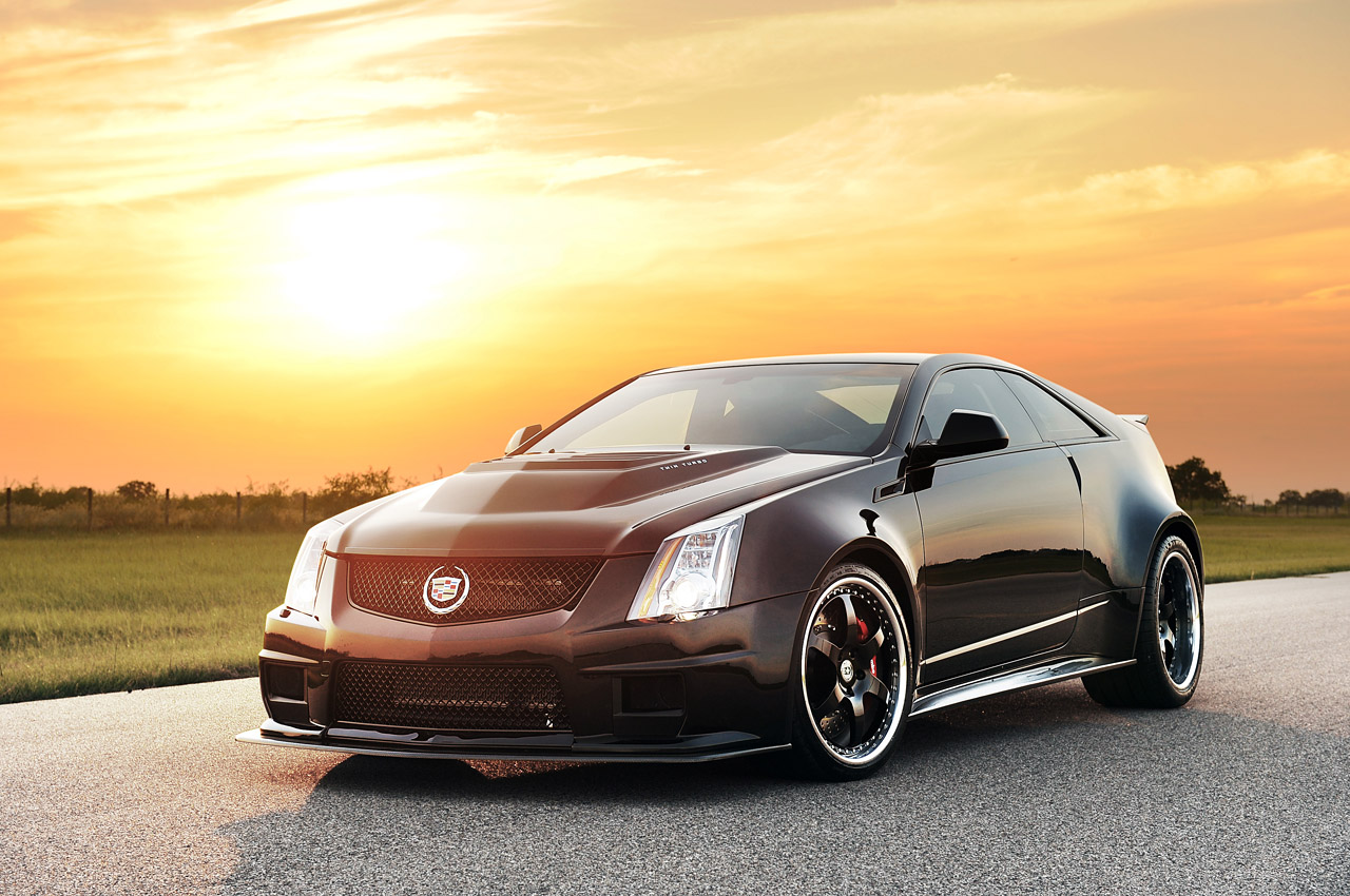 2013 hennessey vr1200 cadillac cts v coupe front quarter angle egmcartech. Black Bedroom Furniture Sets. Home Design Ideas