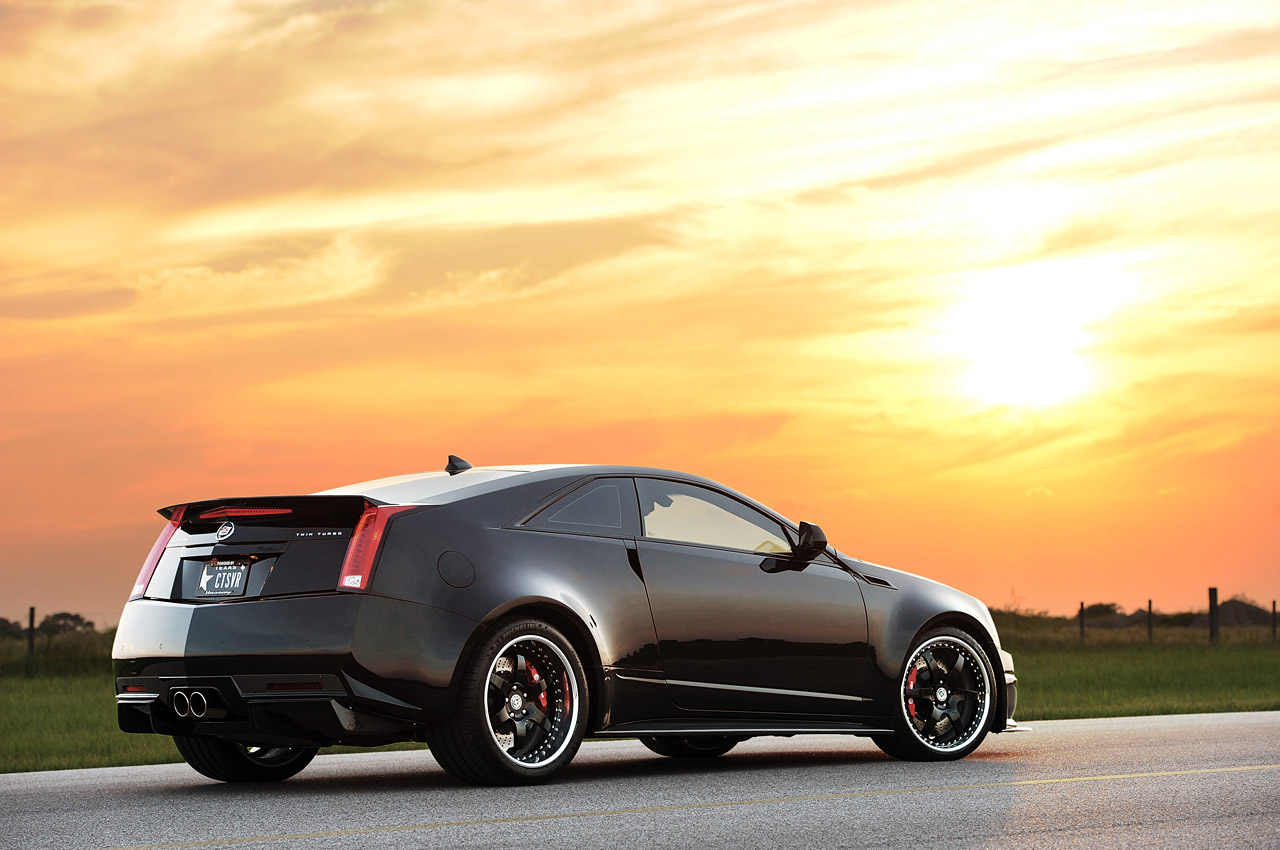 2013 Hennessey Vr1200 Cadillac Cts V Coupe Rear 7 8 Angle