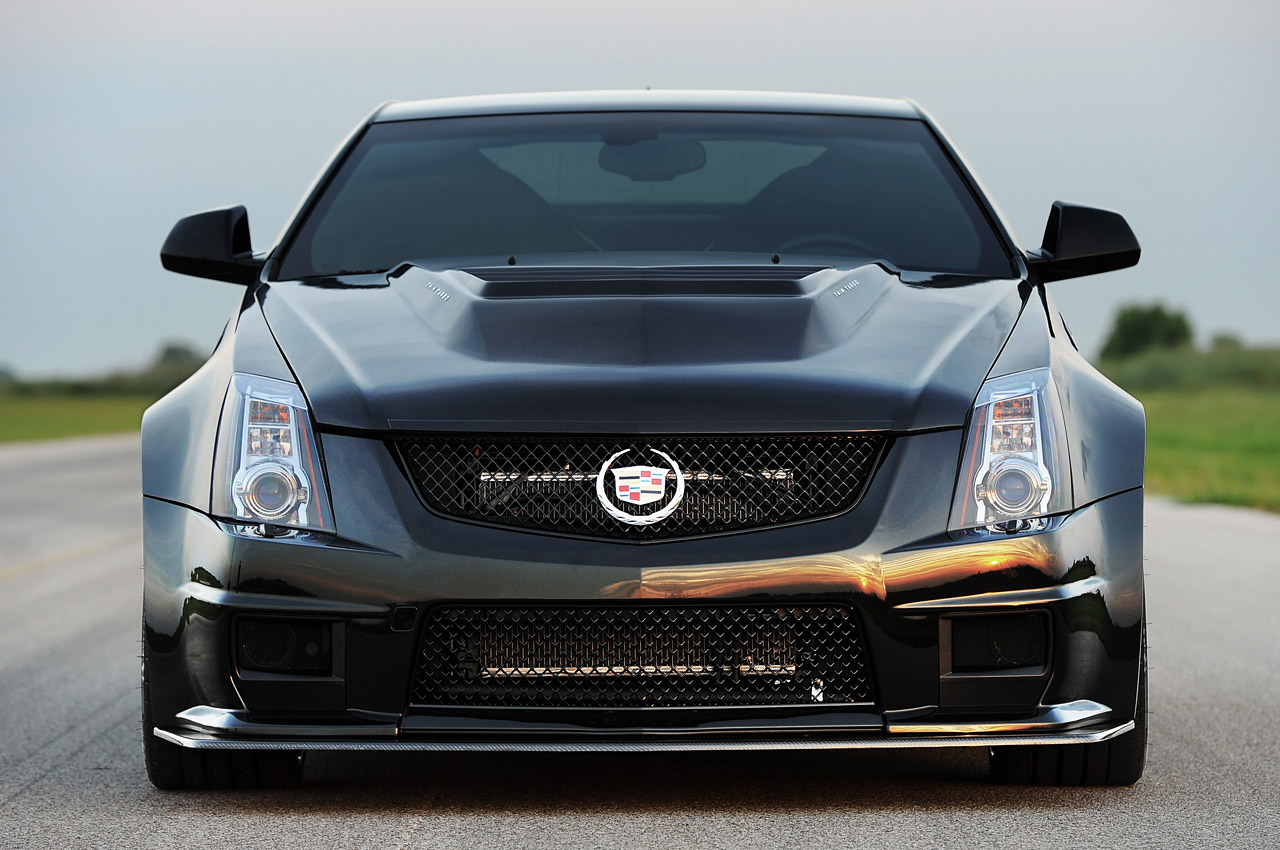 2013 hennessey vr1200 cadillac cts v coupe front view. Black Bedroom Furniture Sets. Home Design Ideas