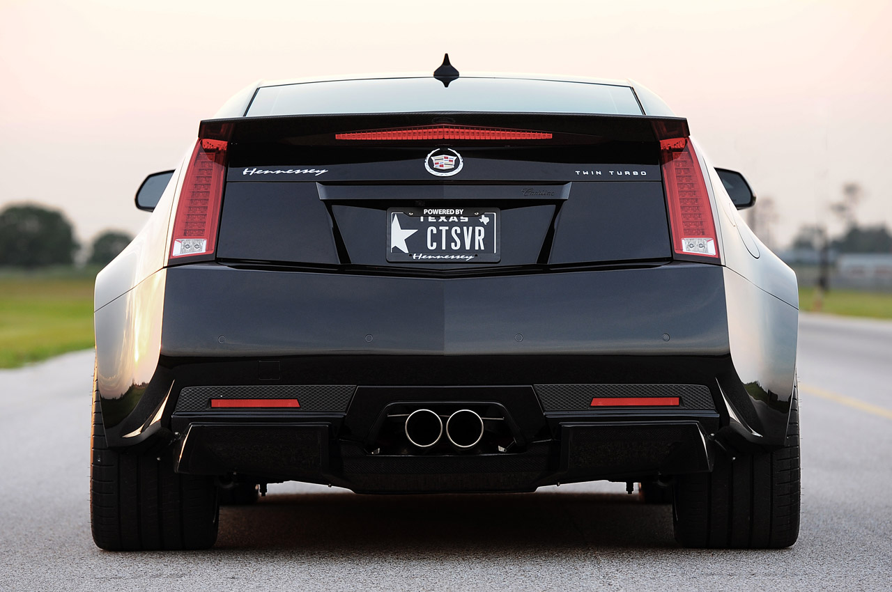 2013 Hennessey Vr1200 Cadillac Cts V Coupe Rear View