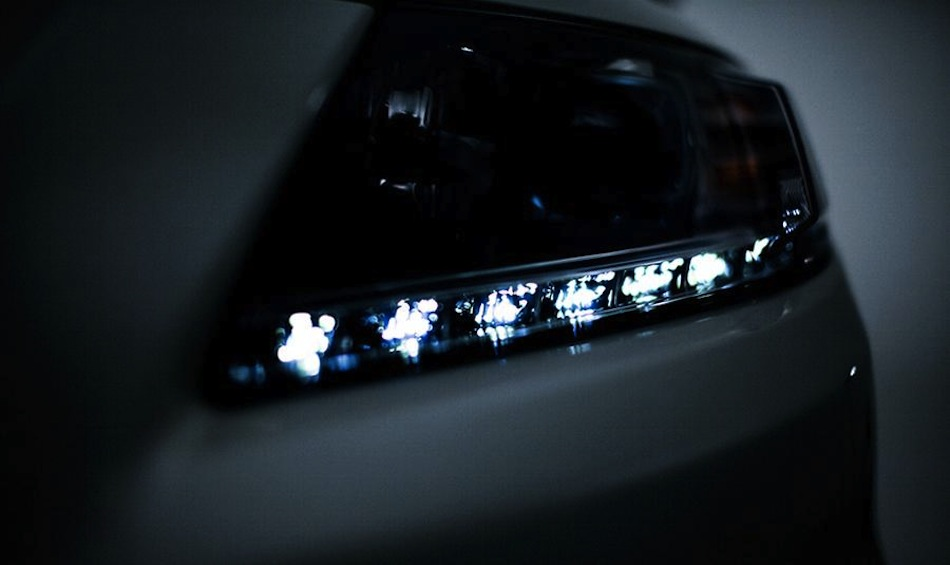 Honda CR-Z teasers LED