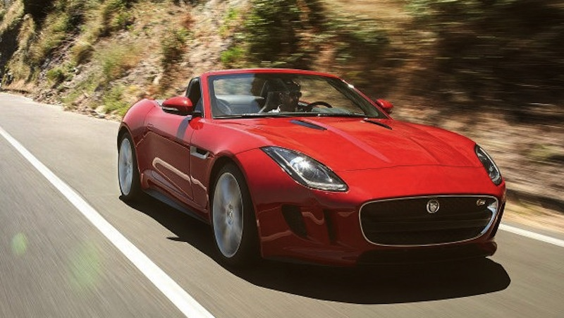 Jaguar F-Type Leaked Photos Red Main