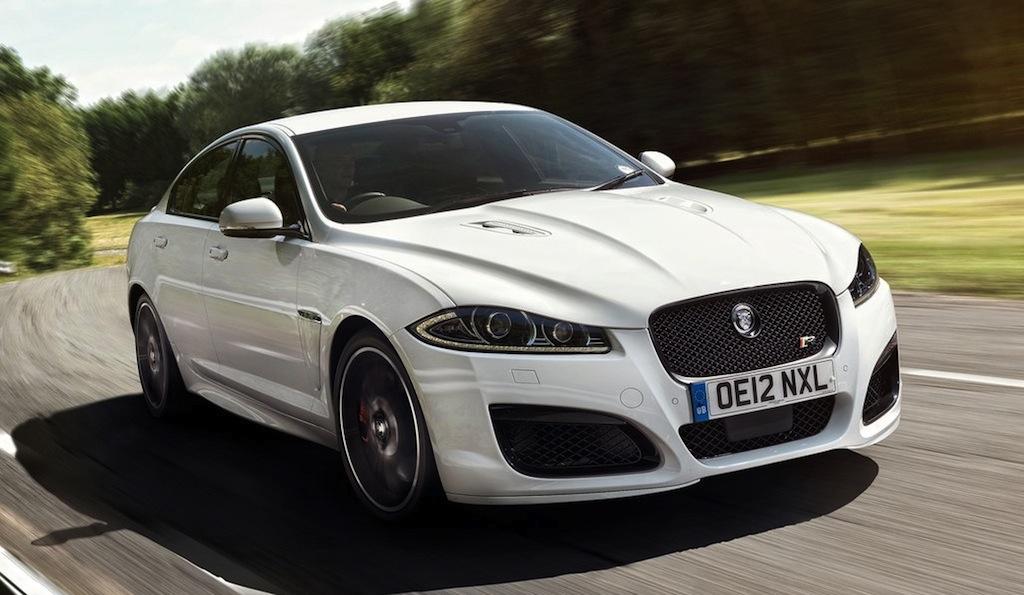 Jaguar XFR Speed Pack Front 3/4 Action View