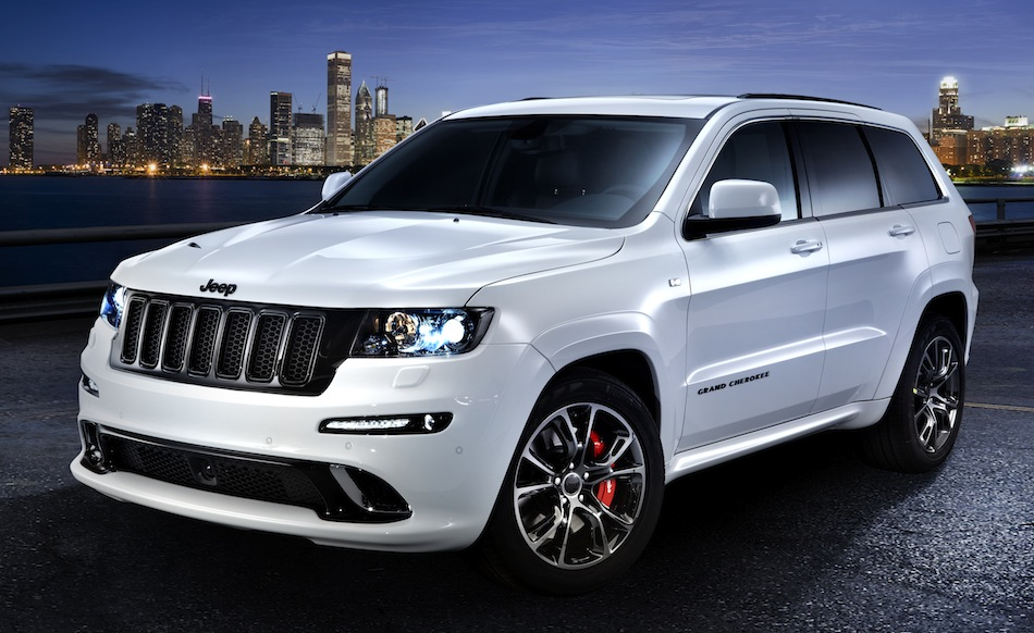 Jeep Grand Cherokee SRT Limited Edition Front 7/8 View