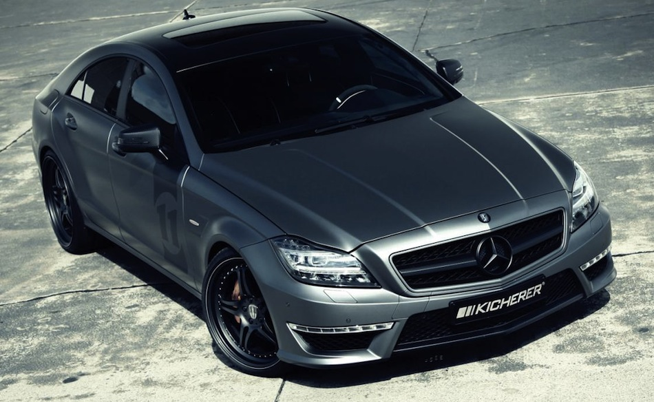 Kicherer Mercedes CLS 63 AMG Yachting Edition Front 3/4