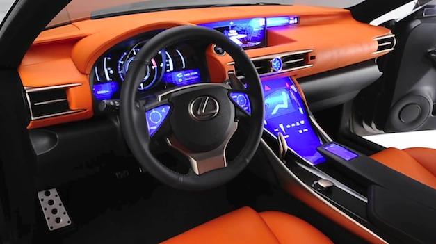 Lexus LF-CC Concept Interior
