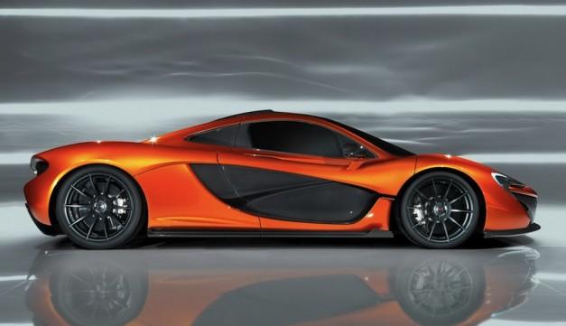 McLaren P1 Prototype Side View