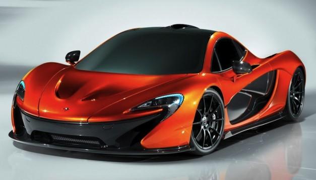McLaren P1 Prototype Front 3/4 View