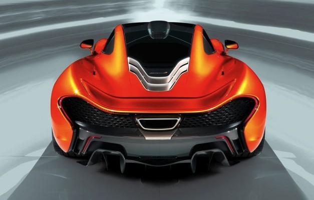 McLaren P1 Prototype Rear View
