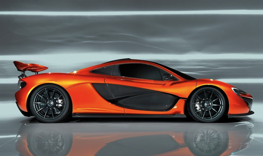 Sun Motors BMW >> McLaren P1 Prototype Side View Flap Up - egmCarTech