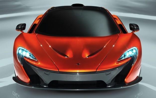 McLaren P1 Prototype Front View