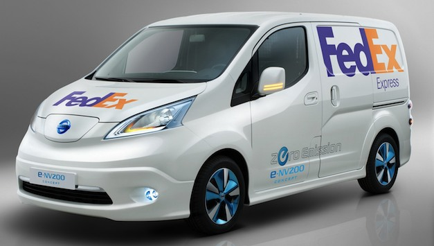 FedEx Nissan e-NV200