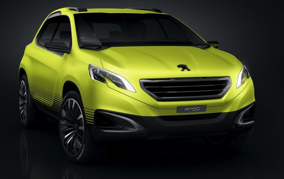 Peugeot 2008 Concept Front 3/4 View