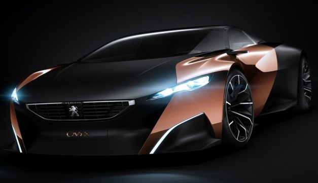 Peugeot Onyx Concept shows itself before Paris debut